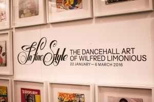 In fine: The Dancehall Art of Wilfred Limonious