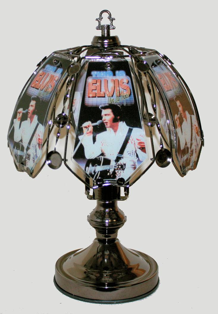 Elvis Presley Vegas Sp Small Touch Lamp Ev6