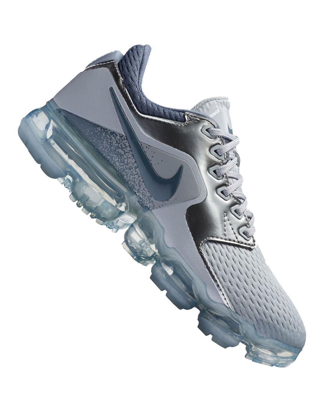 Kids Nike VaporMax Mesh | Grey | Life Style Sports