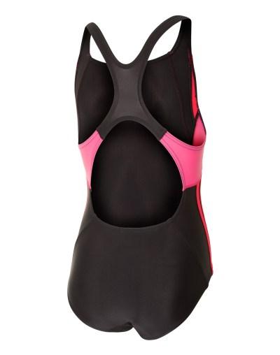 Nike Junior Girls Colour Surge Swimsuit | Black | Life ...