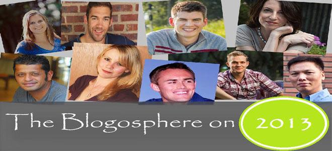 The blogosphere on 2013
