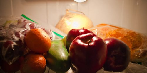 fridge - healthy food