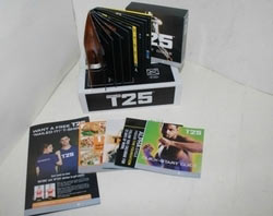 Focus t25 workout review - in the box