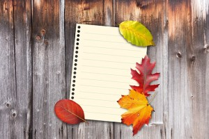 Fall Home Interior List