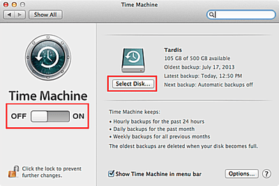 How To Move Time Machine To A New Backup Drive