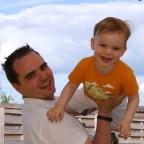 Mijn zoontje en ik
