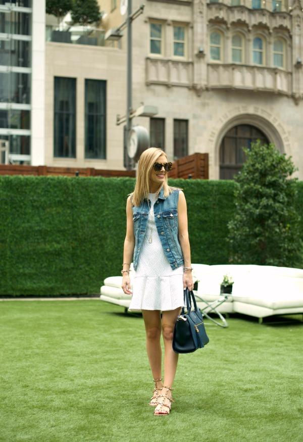 White Shoshanna Dress 1