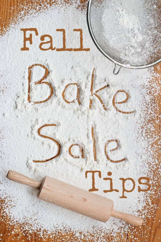 fall bake sale items