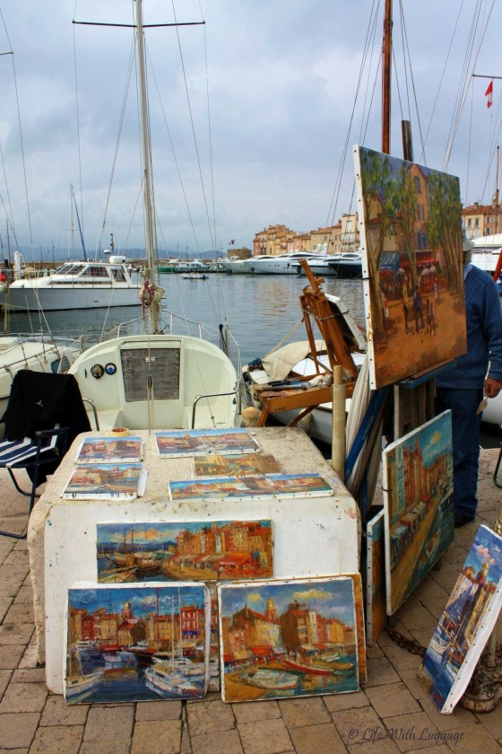 Saint Tropez paintings