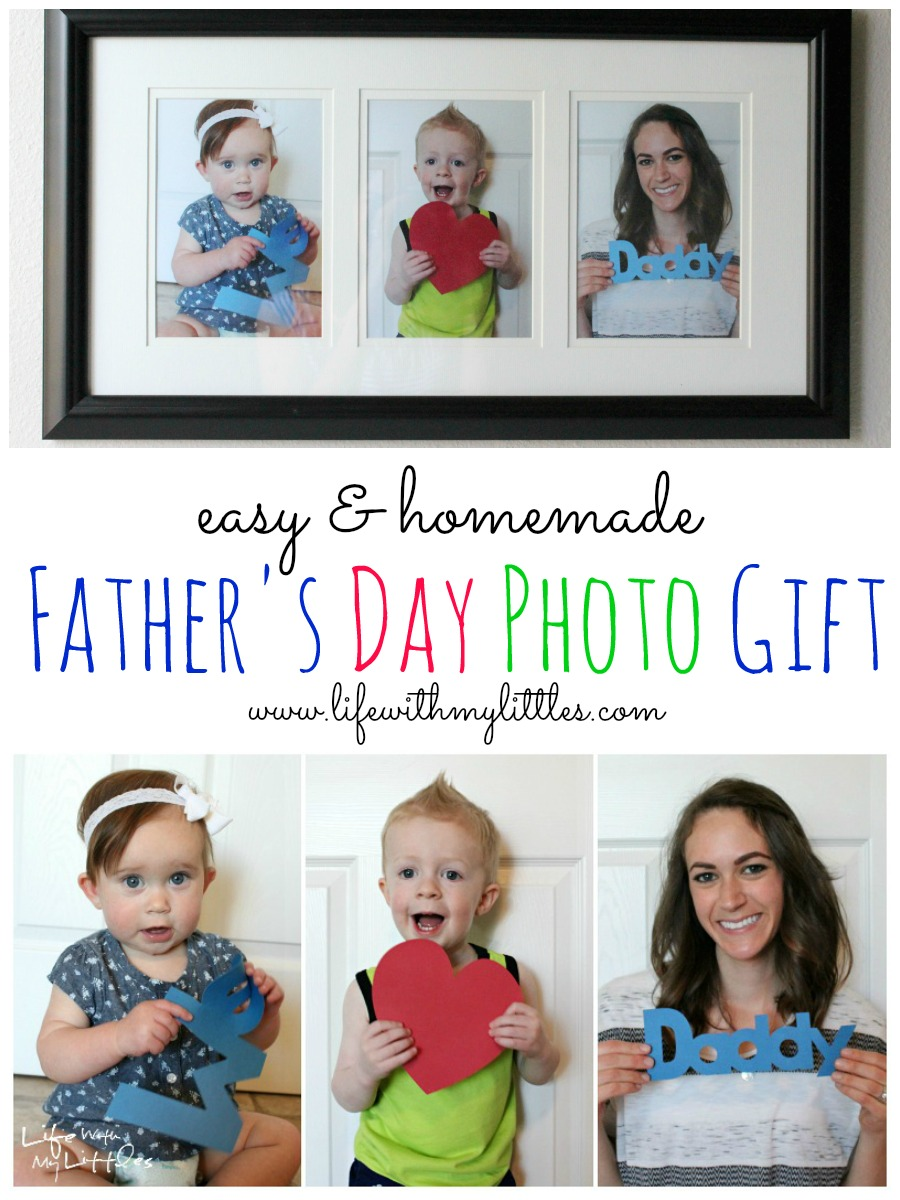 Father's Day Photo Gift - Life With My Littles