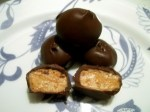Buckeyes (chocolate covered peanut butter balls)