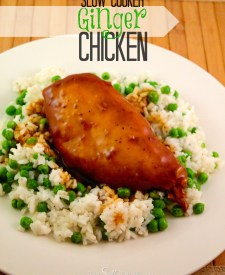 Slow Cooker Ginger Chicken