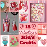 15 Valentine's Day Kid's Crafts