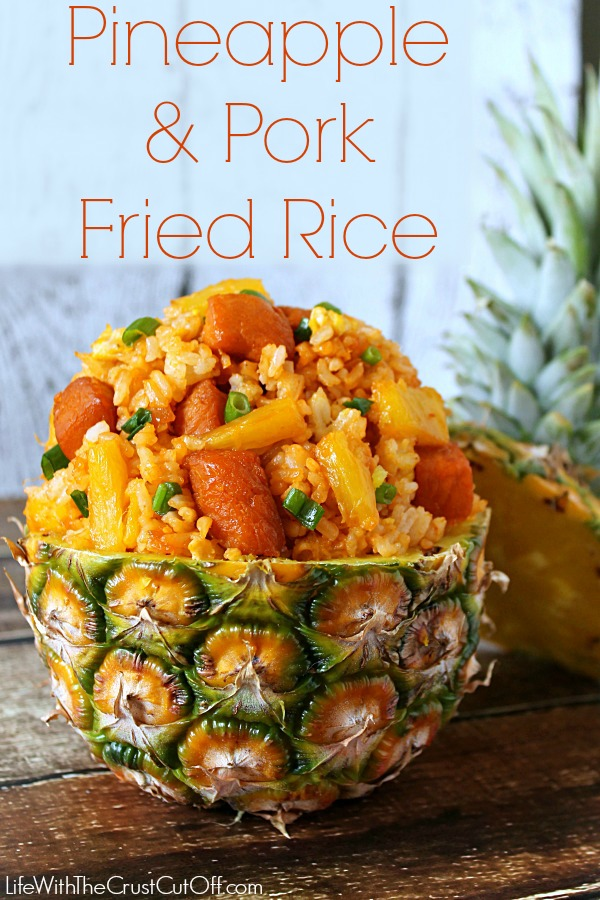 Pineapple and Pork Fried Rice