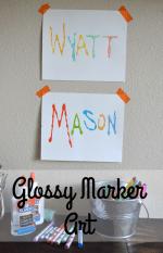 Glossy Marker Art~ Kelsey