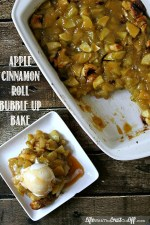 Apple Cinnamon Roll Bubble Up Bake