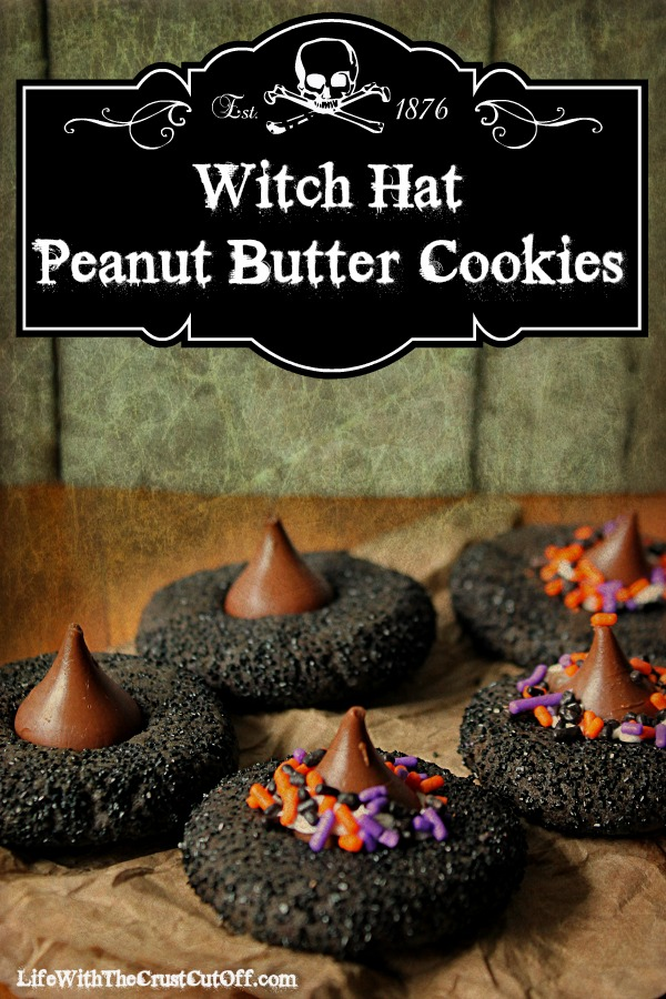 Witch Hat Peanut Butter Cookies from Life With the Crusts Cut Off
