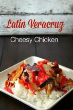 Cheesy Latin Veracruz Chicken with Imagine® Organic Culinary Simmer Sauce