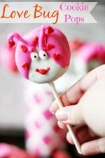 Love Bug Cookie Pops