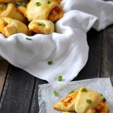 Ranch Buffalo Cheesy Chicken Roll Ups