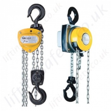 Yale Hand Chain Hoists, Hook Suspended (manual hoists) - Lifting