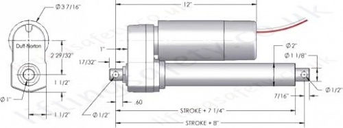 linear actuator tal series wire diagram