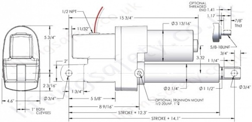 duff norton actuator wiring diagram