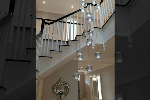 31 Light Air Bubble Chandelier Supplied To Signature Prime