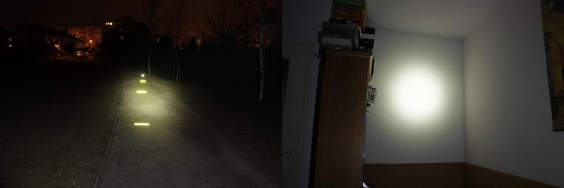 Fenix HP15 - 125 lumens (outdoor / indoor)