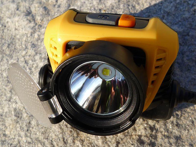 Fenix HP30 - diffuser off
