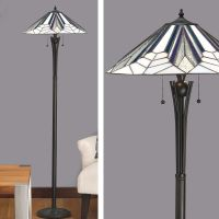 Astoria Floor Lamp Art Deco Floor Lamp Tiffany style
