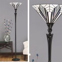 Astoria Uplighter Art Deco Floor Lamp Tiffany style TF63933