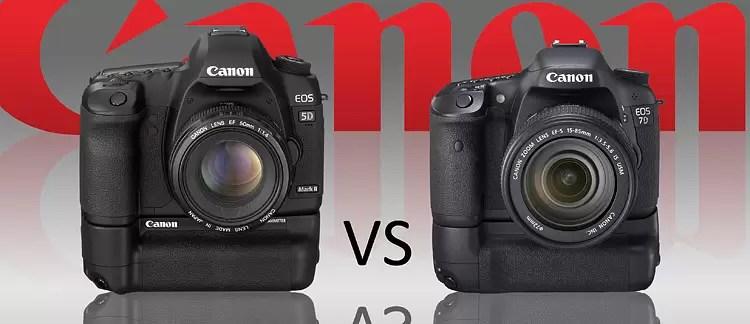 Canon 5d Mark II vs Canon 7D