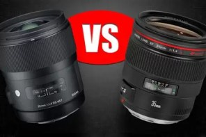 "Lens Comparison: Sigma 35mm f/1.4 ""Art"" vs. Canon 35mm f/1.4L"