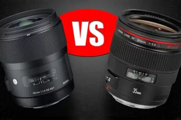 Sigma 35mm f/1.4 vs Canon 35mm