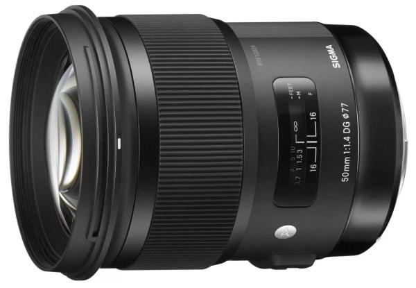 Sigma 50mm f/1.2 HSM Art Series Lens