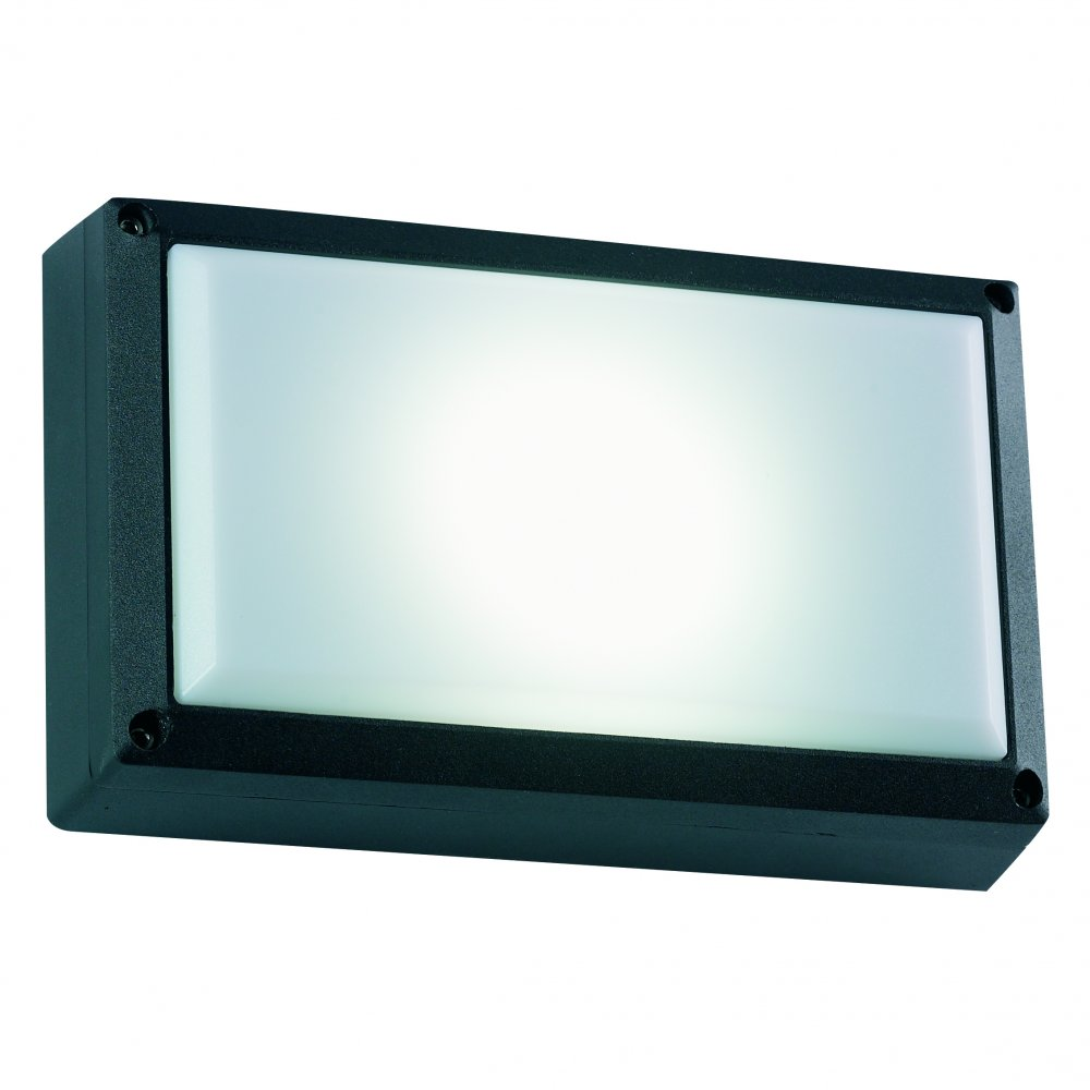 Endon El 40035 Bl Strachan Black Low Energy Exterior Wall