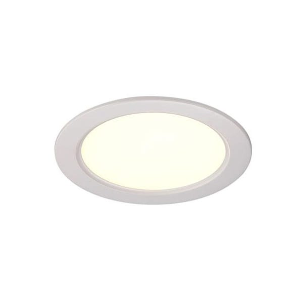 Contemporary White LED Recessed Ceiling Spotlight