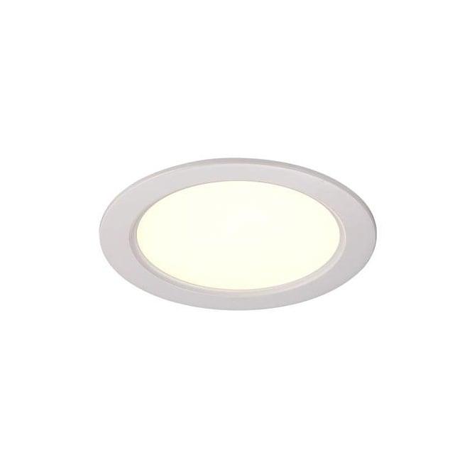Contemporary White LED Recessed Ceiling Spotlight
