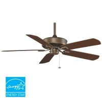 "Fanimation TF910AZ Aged Bronze 50"" 5 Blade Energy Star ..."