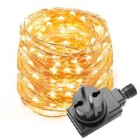 10M LED Kupferdraht lichterkette, 100 LEDs, Wasserdicht ...