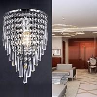 Classy Crystal Wall Light with 1 Light - LightingO.co.uk