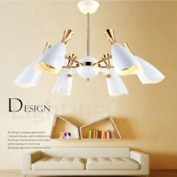 Modern/ Contemporary Dining Room 6 Light Chandeliers for ...