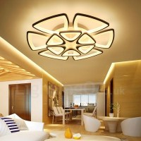 12 Light Modern/Contemporary LED Integrated Living Room ...