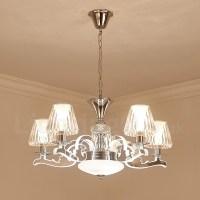 Retro, Rustic, Luxury Crystal Pendant Lamp Chandelier with ...