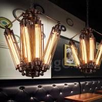 Industrial Style Steel Lighting Living Room, Study, Dining ...
