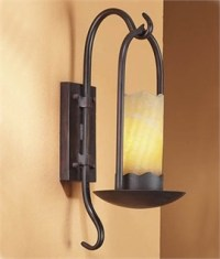 Medieval, Wrought Iron & Rustic Wall Lights | Lighting Styles