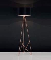 Modern Geometric Tripod Floor Lamp with Shade available in ...
