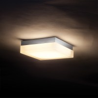 Dice Square Wall/Ceiling Light by WAC Lighting | FM-4006-30-CH