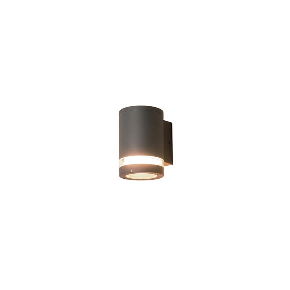 Elstead Lighting Azure Low Energy 3 Dark Grey Outdoor Wall